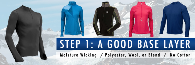 Ski Base Layers from Skiessentials.com
