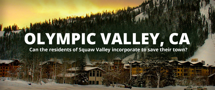 Olympic Valley, CA - Can it incorporate? : Lead Image