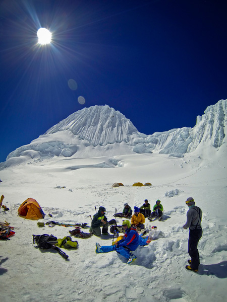 Jason Ebelheiser Behind the Lens Interview: Camping on Glaciers in Peru