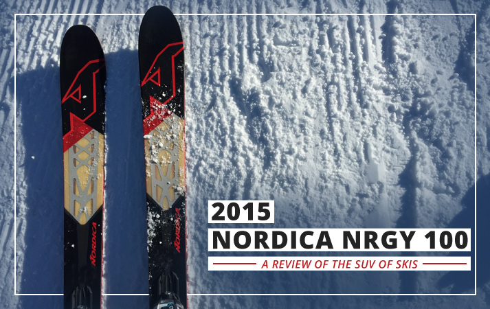 The 2015 Nordica NRGY 100 is the SUV of Skiing: Lead Image