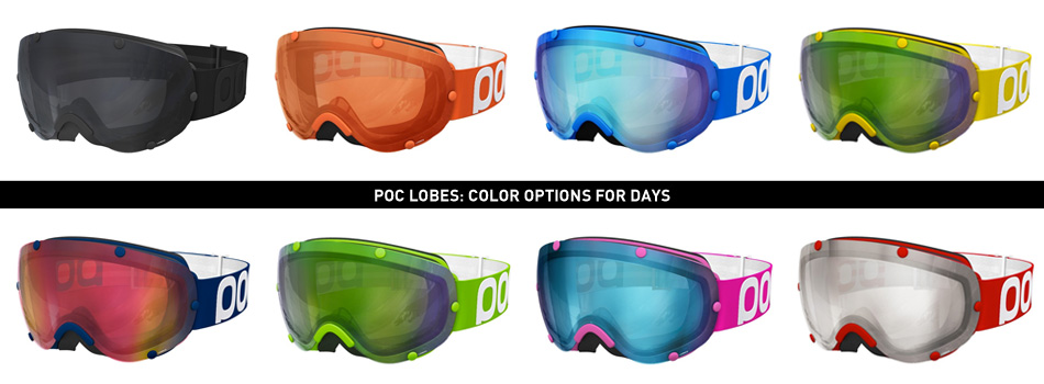 Poc Lobes Goggle Review: Color Option Graphic