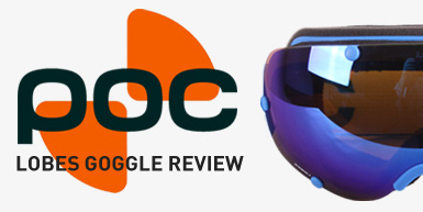 Poc Lobes Goggle Review: Intro Image