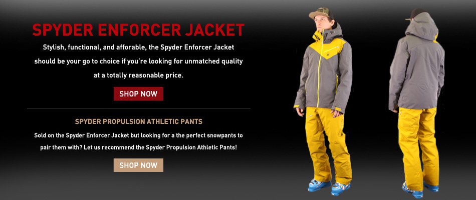 Spyder Enforcer Jacket Review: Buy Now and Propulsion Pants