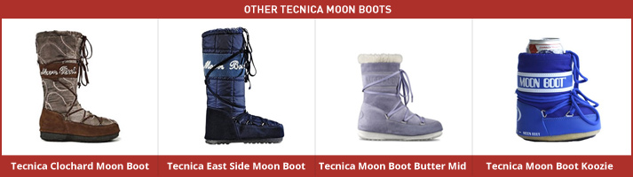 A New Review of the Classic Tecnica Moon Boot: Other Available Moon Boots