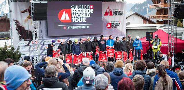 Top Five Fridays July 7, 2017: Freeride World Tour Athletes Image