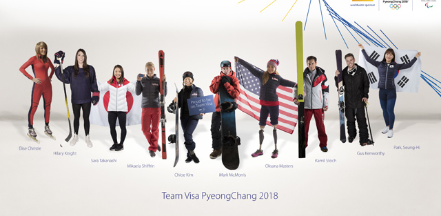 Top Five Fridays September 29, 2017: Visa's 2018 PyeongChang Olympic Team Image