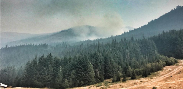 Top Five Fridays September 8, 2017: Crystal Mountain Fire Image