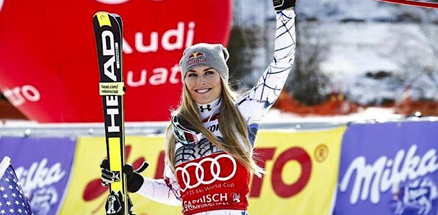 Top Five Fridays December 7,2018: Lindsey Vonn Glory Days Image