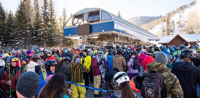 Top Five Fridays November 30, 2018: Vail Lift Line Image