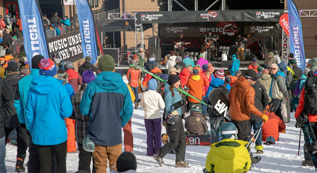 Top Five Fridays April 12, 2019: Jackson Hole Crowds Image