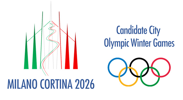 Top Five Fridays April 5, 2019: Milan Cortina 2026 Winter Olympic Logo