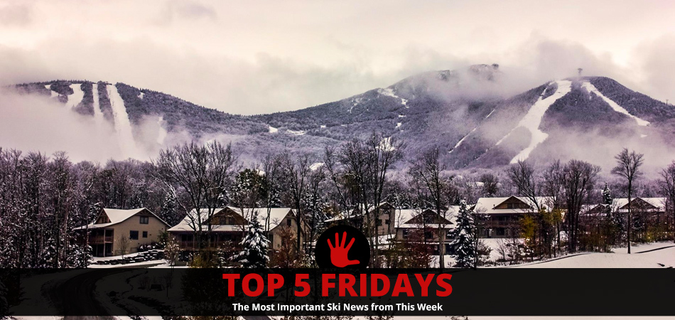 Top Five Fridays January 11, 2019: Lead Image