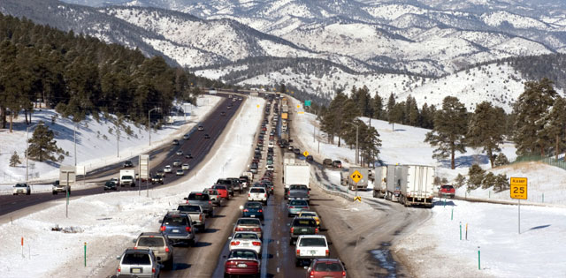 Top Five Fridays June 7, 2019: I-70 Winter Traffic Image