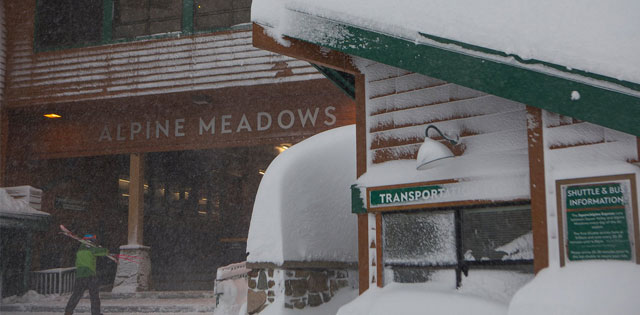 Top Five Fridays March 8, 2019: Alpine Meadows Lodge