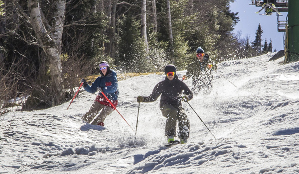 Top Five Fridays April 29, 2016: A Spring Day at Jay Peak