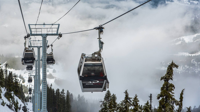 Top Five Fridays August 19, 2016: Whistler Blackcomb Image