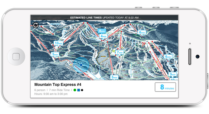Top Five Fridays August 21, 2015: Vail Adds EpicMix Time to Resort's App