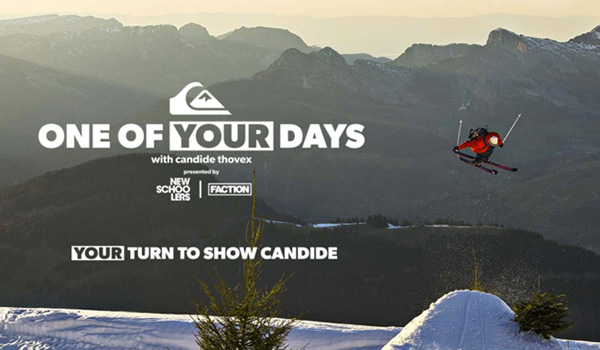 Top Five Fridays February 26, 2016: Candide Thovex One of Your Days Contest Image