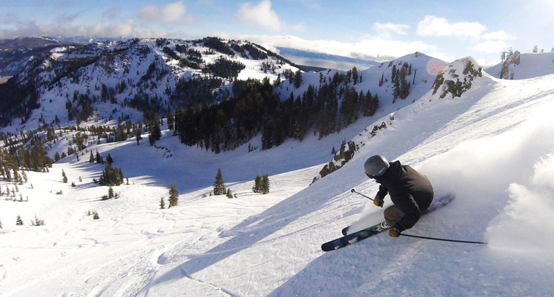 Top Five Fridays January 22, 2016: Powder at Squaw Valley