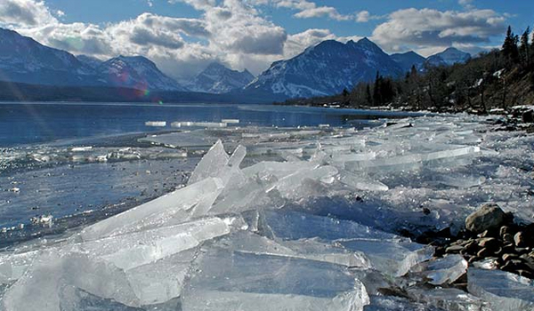 Top Five Fridays June 17, 2016: Glacier National Park's Melting Glaciers