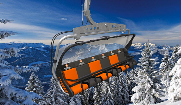 Top Five Fridays June 17, 2016: Madrisa Resort's New Laser Activated Chairlift