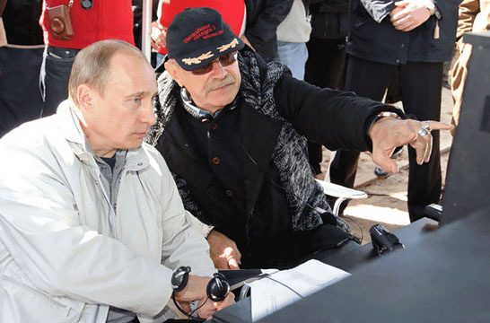 Top Five Fridays June 24, 2016: Vladimir Putin and Nikita Mikhalkov Image