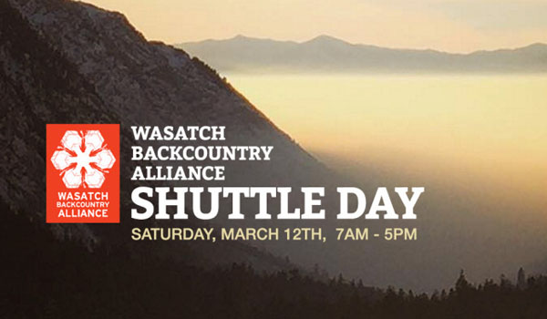 Top Five Fridays March 11, 2016: Wasatch Backcountry Alliance Shuttle Day