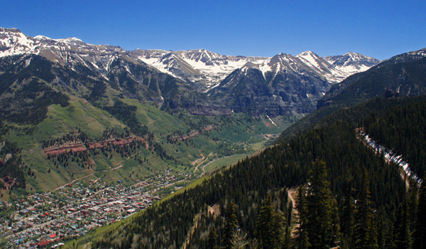 Top Five Fridays May 20, 2016: Telluride, CO Landscape