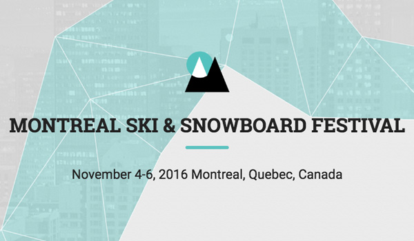 Top Five Fridays May 27, 2016: Montreal Ski and Snowboard Festival Image
