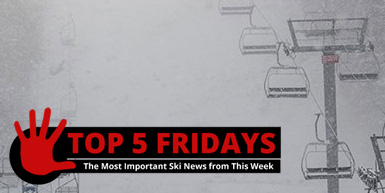 Top Five Fridays - November 20, 2015: Intro Image