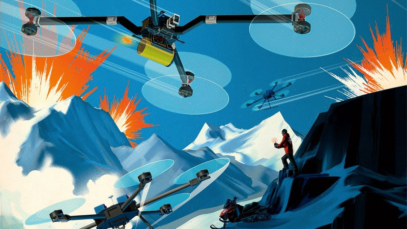 Top Five Fridays October 30, 2015: Mountain Drones Want to Use Drones to Control Avalanches