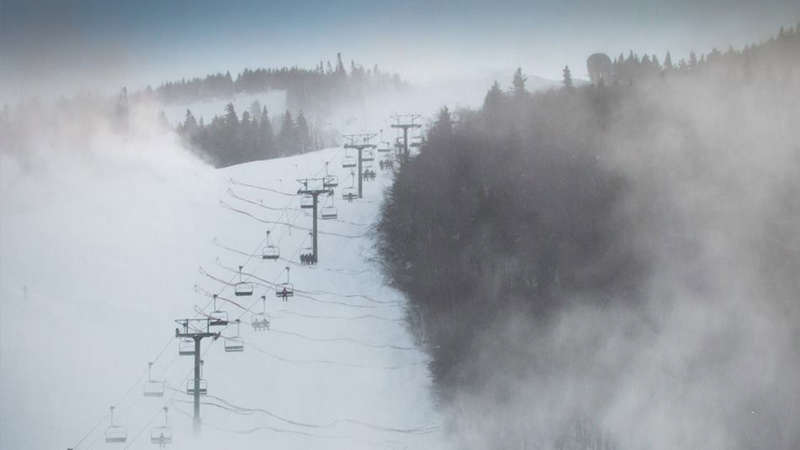 Top Five Fridays October 9, 20015: Snowmaking on Killington's Superstar