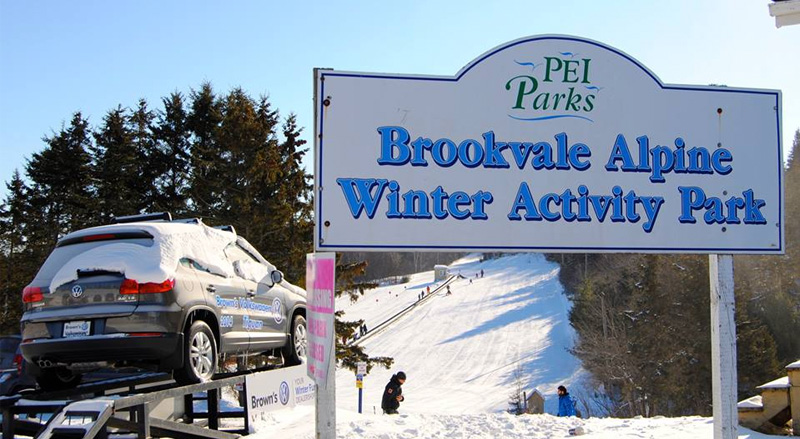 Top Five Fridays September 25, 2015: Brookvale Provincial Ski Park Requires Ski Helmets