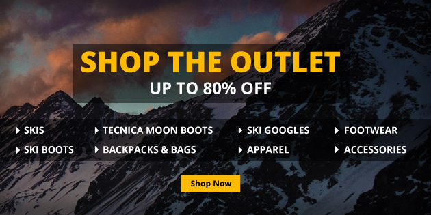 Huge Ski Discounts in Our Outlet!